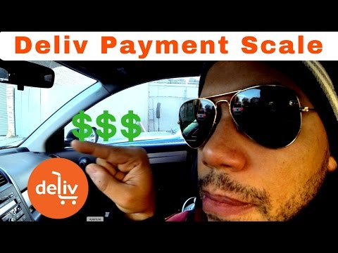Deliv Driver Pay