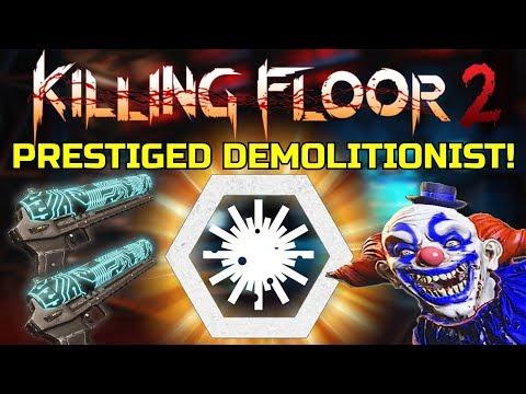 Killing Floor 2   PRESTIGED DEMO! - Fully Upgraded HX-25! (Lockdown)