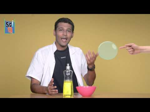 Soap + Water = BUBBLES - Kids Science Experiments