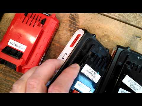Black & Decker 20v in Porter Cable Charger