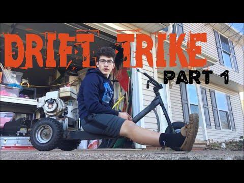 DRIFT TRIKE BUILD PART 1