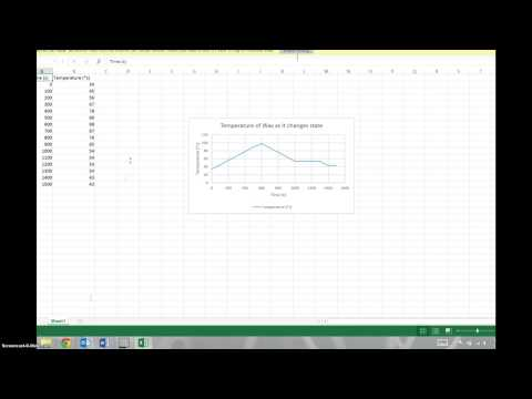 How to Make a Data Table & Line Graph in Excel on OneDrive