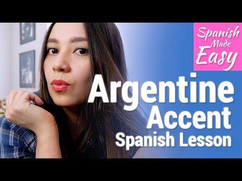Argentine Accent | Spanish Lessons