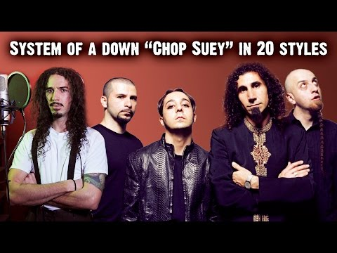 System Of A Down - Chop Suey | Ten Second Songs 20 Style Cover