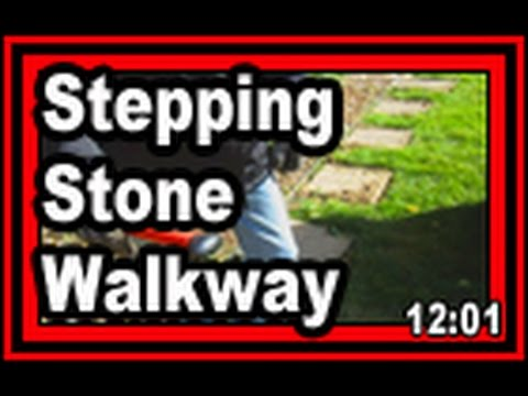 Stepping Stone Walkway  - Wisconsin Garden Video Blog 644