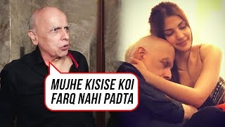 Mahesh Bhatt Reacts To His INTIMATE Pictures With Rhea Chakraborthy