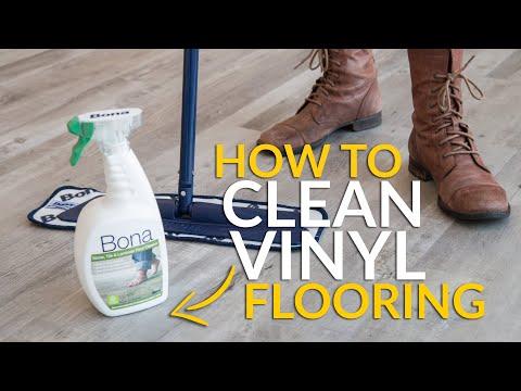 Vinyl Flooring Care & Maintenance