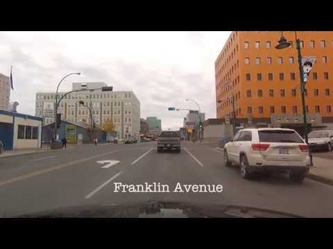 Yellowknife NT - Downtown To Borden Drive