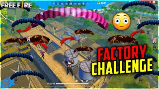 Factory challenge free fire 50 player in last zone😂|op reaction Dj alok giveaway - Garena free fire
