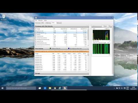 Windows 10 And 8.1 Disk, CPU Network Performance Monitoring RESMON (also Windows 8.1)