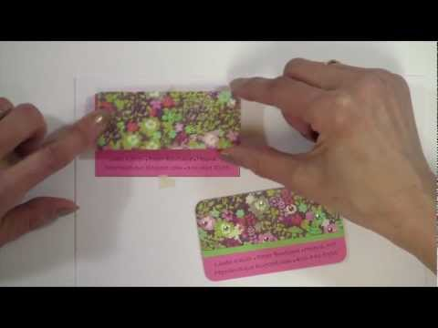 How to Make Custom Business Cards