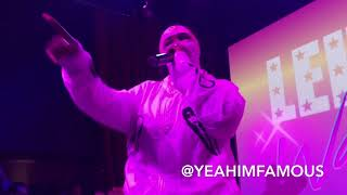 """Leikeli47 Live In NYC """" Wash & Set """" Album Launch Party"""