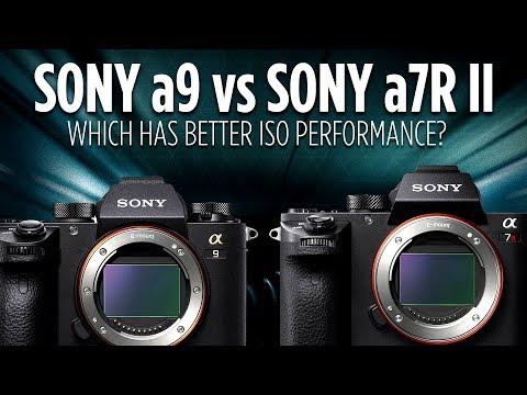 Sony a9 vs Sony a7R II ISO Performance