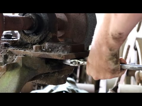 Antique Line Shaft GRINDER Restoration.