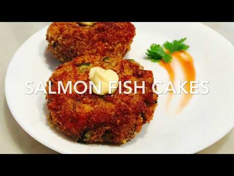Crispy and Delicious Salmon Fish Cakes | Fish Fry Recipe ~ LoveForFood