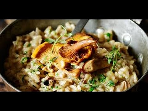 How To Make Mushroom Risotto | Jamie Oliver