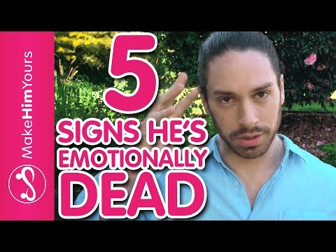 How To Spot An Emotionally Unavailable Partner | Male Personality Types In Dating
