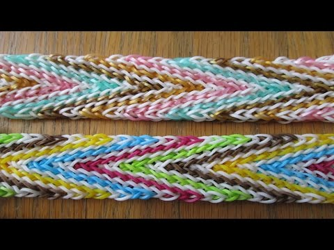 Hook Only-  Chic Chevron Bracelet (Original Design)