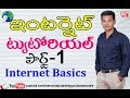 Learn Internet in Telugu #01 Internet Tutorial in Telugu | computer basics in Telugu