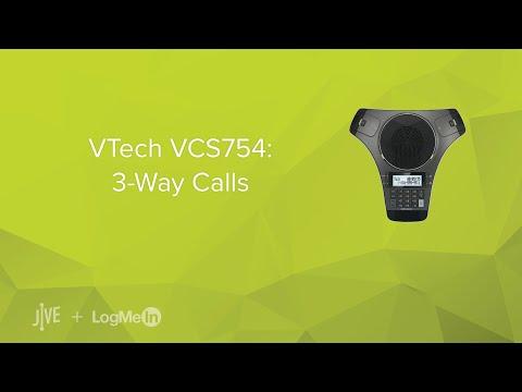 VTech VCS754: 3-Way Calls
