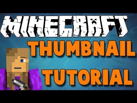How to create a Minecraft thumbnail free (Mac) HD