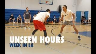 Jayson Tatum, Jordan Clarkson & Kelly Oubre Play 1 on 1   Unseen Hours With Drew Hanlen Ep 4
