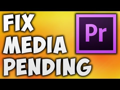 How To Fix Media Pending In Adobe Premiere Pro CC - Solve Media Pending Error In Adobe Premiere Pro