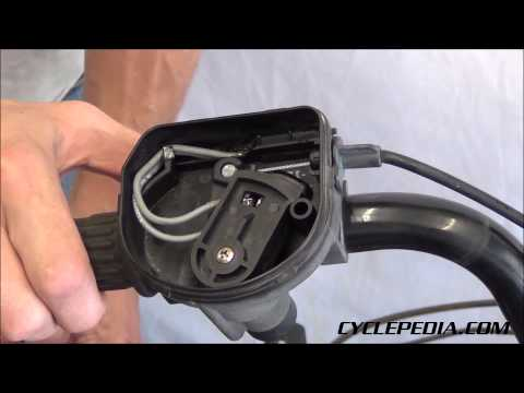 Closed Throttle Detection System ATV - Cyclepedia Repair Manuals