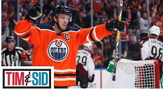 Connor McDavid's Streak Only Shows Oilers Aren't Picking Up The Slack | Tim and Sid