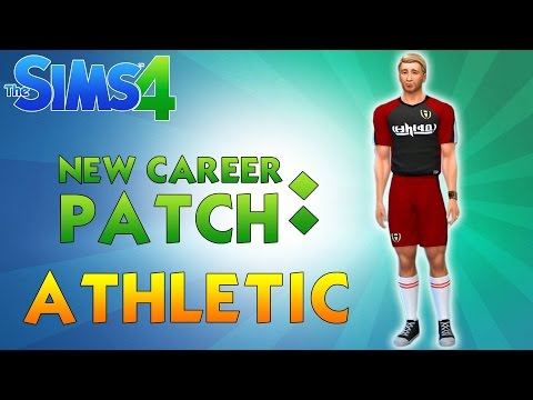 SIMS 4 ATHLETIC CAREER LOOK | December 16 Patch