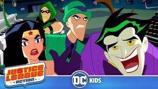Justice League Action | Solving Riddles | DC Kids
