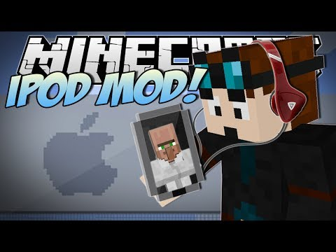 Minecraft | iPOD MOD! (Apps, Explosions & More!) | Mod Showcase