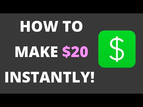HOW TO MAKE $20 INSTANTLY WITH A SMARTPHONE APP!
