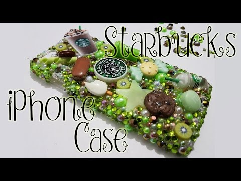Lux Addiction inspired DIY iPhone case (Starbucks green version)