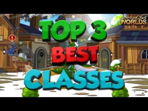 Top 3 Best Non-Member (Non-Rare) Classes in AQW⬅