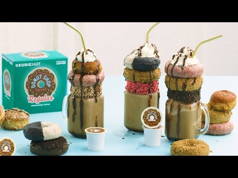 How to Make a Delicious Doughnut Frappé For National Coffee Day