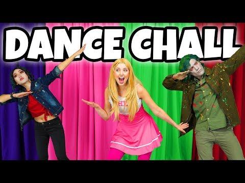 DISNEY ZOMBIES DANCE CHALLENGE. (We play Addison, Eliza and Bonzo)