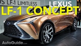 Lexus LF-1 Limitless Concept: 5 Things You Need to Know - 2018 Detroit Auto Show