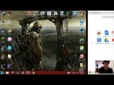 Update Video/How to Open Google Chrome in Desktop Mode - Windows 8 Tutorial