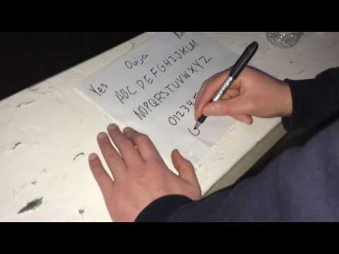 How To Make A Ouija Board At Home That Works and PROOF (TUTORIAL)