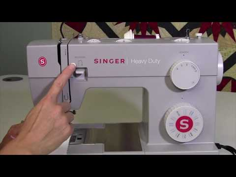 Singer Heavy Duty 4423 17 Sewing in Reverse
