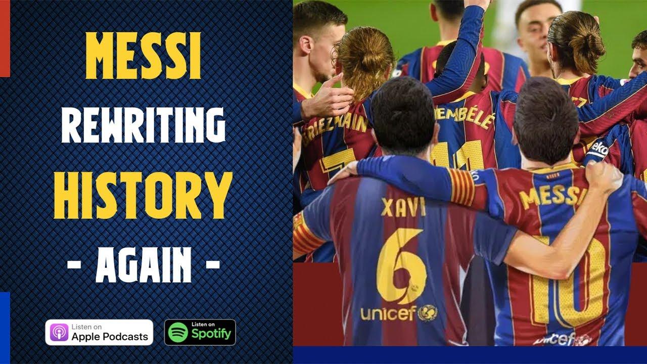 King Messi rewrites HISTORY (again) ft La Masia growth, Agüero, Haaland, Memphis Depay