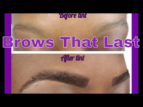 DIY Eyebrow Tint | Longer Lasting Eyebrows