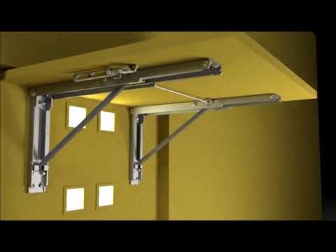 Wall Mounted Folding Brackets by Eureka MFG
