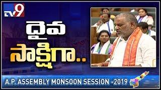 Chevireddy Bhaskar Reddy takes oath as member of AP Assembly - TV9