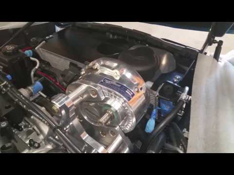 A&A Corvette Procharger bracket conquered? & New belt & blower pulley Install. Boosted C6. Part 40