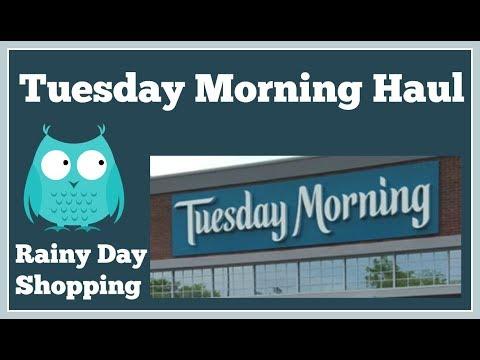 Tuesday Morning 🌂 Rainy Day Haul