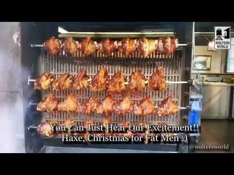 Haxe Heaven - Pork Shank of the Gods - German Food Preview