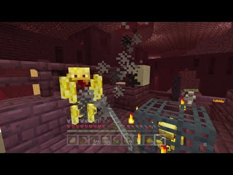 Minecraft Xbox - Quest To Kill The Ender Dragon - Going To The Nether - Part 6