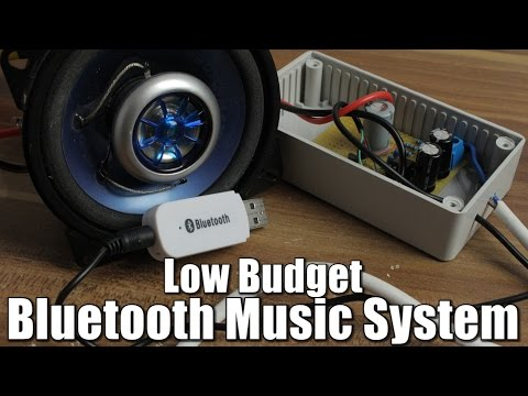 Make your own Low Budget Bluetooth Music System || OpAmp